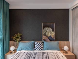 新竹市-睿海,侯宅 意颺空間設計有限公司 臥室