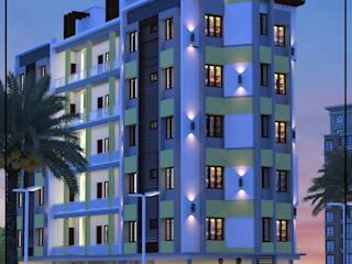 Construction company in Kannur Asian style houses by Glory Constructions Asian