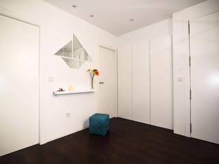 Attico Porto Valencia Ingresso, Corridoio & Scale in stile minimalista di Alfonso Picozzi_Architect Minimalista