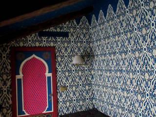 Decorazione in stile moresco Camera da letto in stile classico di erica de rosa, dipinti, affreschi, trompe l'oeil, decorazioni - Venezia Classico