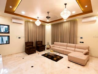 BUNGALOW INTERIORS Classic style living room by Finch Architects Classic