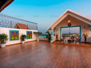 APARTMENT INTERIORS Modern balcony, veranda & terrace by Finch Architects Modern