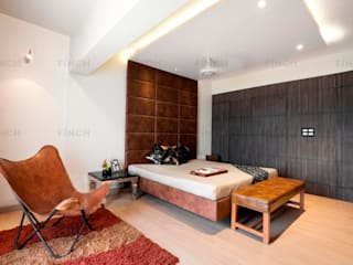 APARTMENT INTERIORS Modern style bedroom by Finch Architects Modern