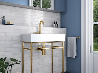 Industrial style bathroom by Equipe Ceramicas Industrial