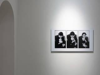 FOTOGRAFIA ARQUITECTURA E ARTE Ruang Studi/Kantor Minimalis Marmer White