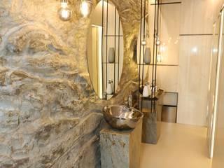 Piedra lunar Kuperdesign Paredes y pisosRevestimiento de paredes y pisos Piedra Gris