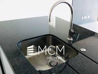 Cozinhas Marmores MCM Cozinhas modernas Granito Preto
