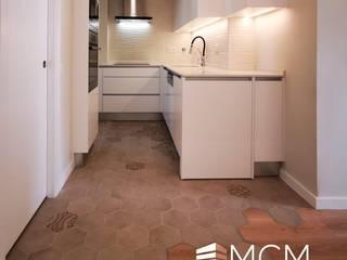 Cozinhas Marmores MCM Cozinhas minimalistas Quartzo Bege