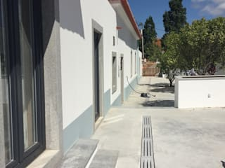 Casa da Ribeira Marmores MCM Pavimentos Calcário Cinzento