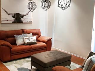 ilisi Interior Architectural Design Soggiorno in stile tropicale Variopinto