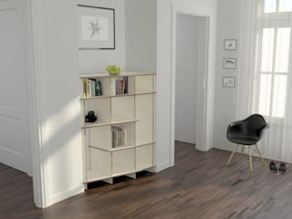 form.bar Living roomCupboards & sideboards Engineered Wood White