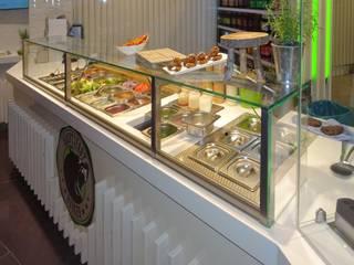 Hauptstadtburger Moderne Gastronomie von ABC Complett Ladeneinrichtungs GmbH Modern