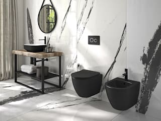 Melissa vilar BathroomToilets Ceramic Black