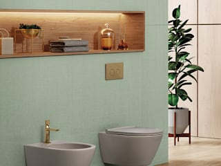 Melissa vilar BathroomToilets Ceramic Brown