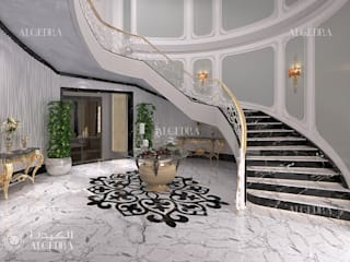 Villa entrance design ideas by Algedra Interior Design Modern