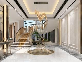 Pasillos, vestíbulos y escaleras de estilo moderno de Algedra Interior Design Moderno
