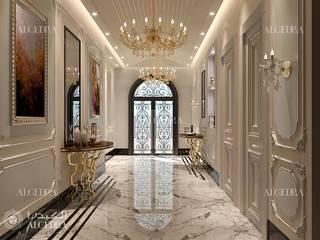 Algedra Interior Design Moderne gangen, hallen & trappenhuizen