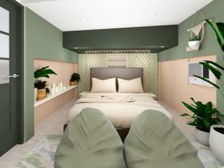 Quadraforma Construction Dormitorios pequeños Verde