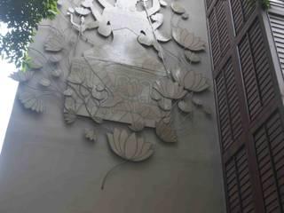 Hospitales de estilo asiático de mrittika, the sculpture Asiático