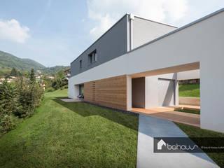 VILLA GP Bahaus srl Casa di legno Legno Grigio