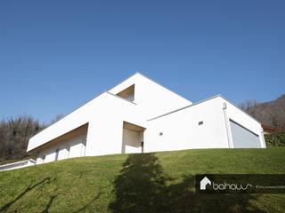VILLA MG Bahaus srl Casa di legno Legno Bianco