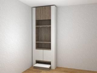 Quadraforma Construction Vestíbulos, pasillos y escalerasCómodas y estanterías