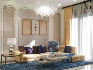 HOME INTERIOR PROJECT Modern living room by Akshayaguna Architects Modern