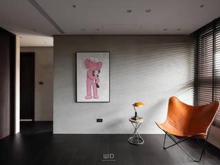 Soggiorno moderno di WID建築室內設計事務所 Architecture & Interior Design Moderno