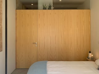 FMO ARCHITECTURE Small bedroom Plywood Wood effect
