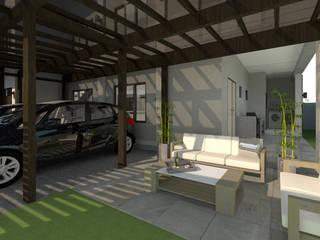 Quadraforma Construction Garajes dobles