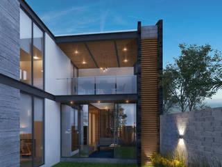 Residencia IS [León, Gto.] 3C Arquitectos S.A. de C.V. Casas unifamiliares Concreto Gris