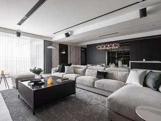 Modern living room by 存果空間設計有限公司 Modern