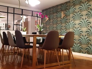 Estudio RYD, S.L. Walls & flooringWallpaper Paper Green