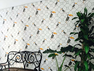 Estudio RYD, S.L. Walls & flooringWallpaper Paper White