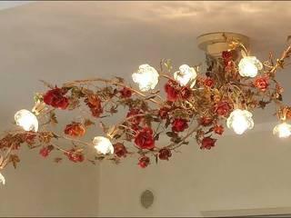 Illuminazione Serie FLOREALE illuminate con temi floreali LAMPEX ITALIANA Sala da pranzoIlluminazione