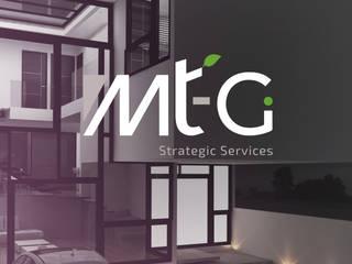 MT-GI STRATEGIC SERVICES モダンデザインの 書斎 アルミニウム/亜鉛 灰色