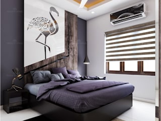Premdas Krishna BedroomAccessories & decoration Wood Wood effect
