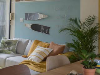 岸邊小屋 · CABIN ON THE SEASHORE Lo-Fi House(貳拾貳室股份有限公司) 客廳