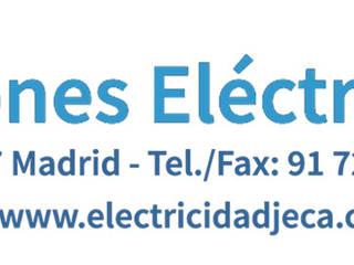 INSTALACIONES ELÉCTRICAS Y TELECOMUNICACIONES Salas multimedia de estilo moderno de INSTALACIONES ELECTRICAS JECA SL Moderno