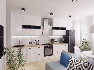 Scandinavian minimalism PRIVATE DESIGN Kitchen