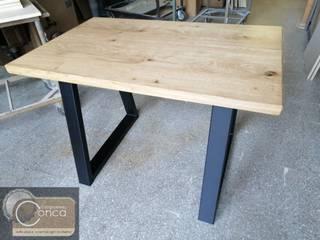 Il profumo del vero legno con mobili artigianali su misura di vera qualità: Cucine, tavoli , armadiature e molto altro ancora... FALEGNAMERIA CONCA di Falegnameria Conca Rustico