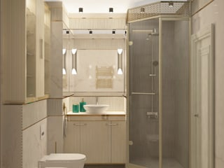 Salle de bain moderne par Яна Васильева. дизайн-бюро ya.va Moderne