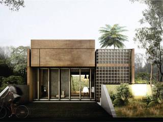 F House studioreka architect Rumah Modern