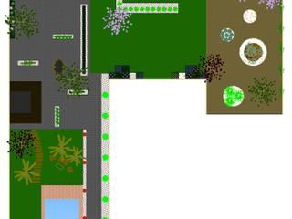 Diseño de jardines Jardines de estilo moderno de Jardinería Las Jaras Moderno