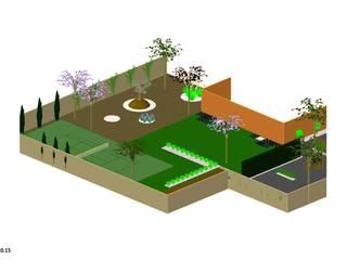 Diseño de jardines de Jardinería Las Jaras