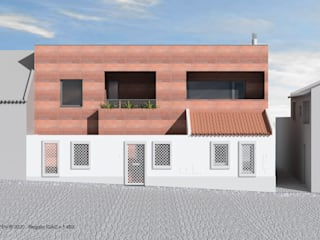 ATELIER OPEN ® - Arquitetura e Engenharia Villa Beton Rot