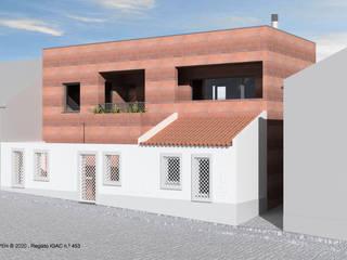ATELIER OPEN ® - Arquitetura e Engenharia Rumah tinggal Besi/Baja Brown