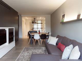 QUADRASTUDIO Moderne Wohnzimmer
