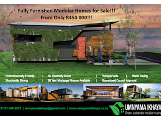 Modular Homes for Sale Umnyama Ikhaya Prefabricated home Aluminium/Zinc Multicolored