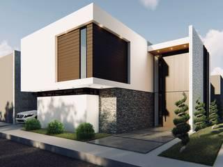 Diseño Arquitectónico Casa esquinera de 4.19Arquitectos Moderno